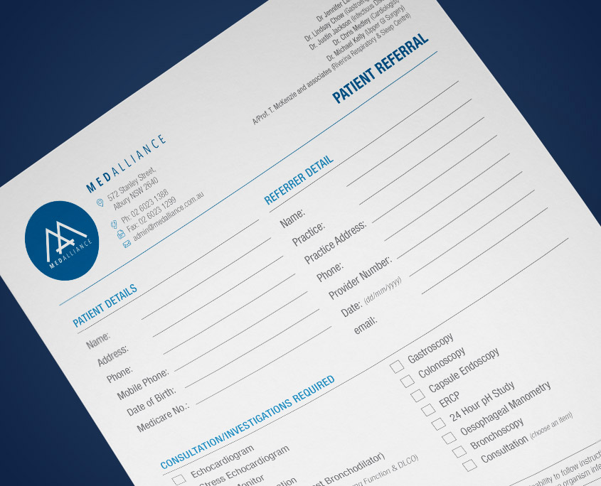 Referral Form MedAlliance